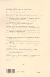 N 12-13 - 4ème de couverture - Format classique