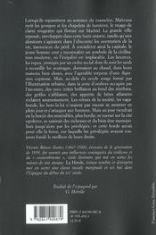 La Horde - 4ème de couverture - Format classique