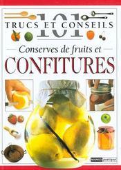 Conserves de fruits et confitures - Intérieur - Format classique