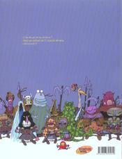 Donjon parade t.4 ; des fleurs et des marmots - 4ème de couverture - Format classique