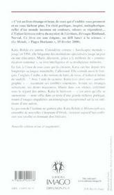 L'enfant herisson (2ed) suivi de metamorphoses - 4ème de couverture - Format classique