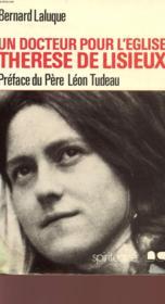 Therese de lisieux un docteur pour l'eglise - Couverture - Format classique