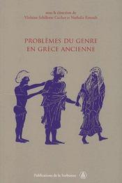 Problèmes du genre en grèce ancienne - Intérieur - Format classique