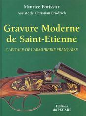 Gravure moderne de saint-etienne capitale de l'armurerie - Intérieur - Format classique