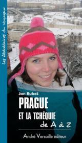 Prague et la Tchéquie de A à Z - Couverture - Format classique