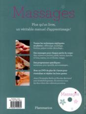 Massages - 4ème de couverture - Format classique