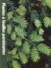 Plantes à Feuilles Persistantes - Couverture - Format classique
