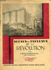 Scenes Et Tableaux De La Revolution - Couverture - Format classique