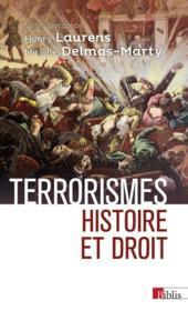 Terrorismes ; histoire et droit - Couverture - Format classique