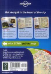 Edinburgh (3e édition) - 4ème de couverture - Format classique