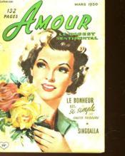 Amour Le Digest Sentimental - N°11 - Couverture - Format classique