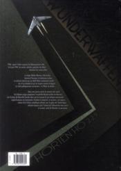 Wunderwaffen T.6 ; le spectre de l'Antarctique - 4ème de couverture - Format classique