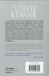 Aliette Renoir t.1 ; la secte d'Abaddon - 4ème de couverture - Format classique
