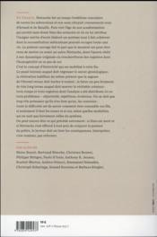 Les historicites de nietzsche - 4ème de couverture - Format classique