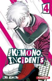 Kemono incidents T.4 - Couverture - Format classique