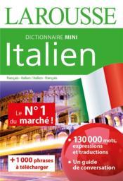 Dictionnaire mini italien - Couverture - Format classique
