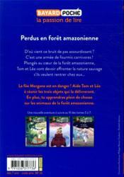 La cabane magique T.5 ; perdus en forêt amazonienne - 4ème de couverture - Format classique