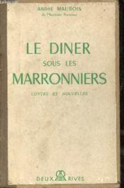 Le diner sous les marronniers - Contes et nouvelles. - Couverture - Format classique