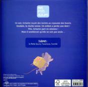Grisette, la petite souris part en mission ! - 4ème de couverture - Format classique