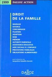 Droit De La Famille ; 2e Edition - Intérieur - Format classique