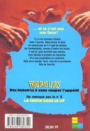 Froid Dans Le Dos T.7 Le Dindon De Frankenstein Vol.2 - 4ème de couverture - Format classique