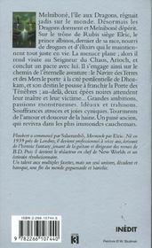 Le cycle d'Elric t.1 ; Elric des dragons - 4ème de couverture - Format classique