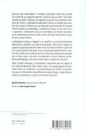 Ambivalence De La Mere (L') - 4ème de couverture - Format classique
