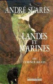 Landes Et Marines - Couverture - Format classique