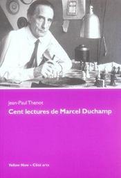 Cent lectures de marcel duchamp - Intérieur - Format classique