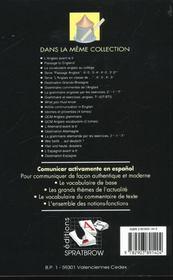 Comunicar activamente en español - 4ème de couverture - Format classique