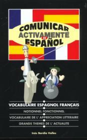 Comunicar activamente en español - Couverture - Format classique
