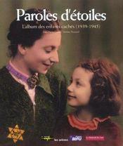 Paroles D'Etoiles - Intérieur - Format classique