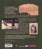 Paroles D'Etoiles - 4ème de couverture - Format classique