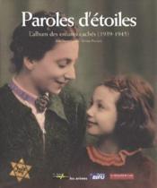 Paroles D'Etoiles - Couverture - Format classique