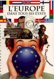 L'europe dans tous ses etats - Couverture - Format classique
