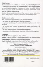 Rousseau ; les confessions, I à VI - 4ème de couverture - Format classique