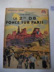 LA 2eme DB FONCE SUR PARIS - Couverture - Format classique