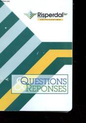 Questions Et Reponses - 24 Fiches Indexes + Classeurs - Couverture - Format classique