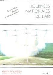 Journees Nationales De L'Air - Les Exportations Francaises De Materiel Aeronautique - Couverture - Format classique