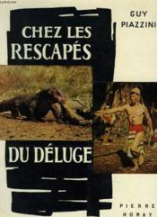 Chez Les Rescapes Du Deluge - Couverture - Format classique