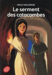 Le serment des catacombes - Couverture - Format classique
