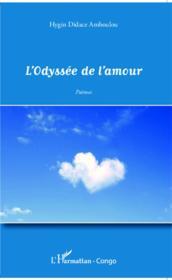 L'odyssée de l'amour - Couverture - Format classique