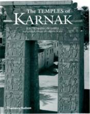 The temples of karnak - Couverture - Format classique