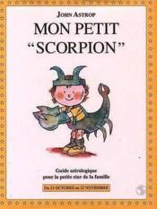 Mon Petit Scorpion - Couverture - Format classique