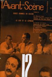 L'AVANT-SCENE - FEMINA-THEATRE N° 184 - DOUZE HOMMES EN COLERE de REGINALD ROSE - Couverture - Format classique