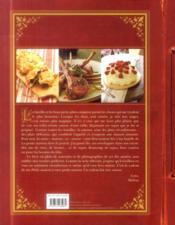 La petite maison dans la prairie ; mon livre de cuisine - 4ème de couverture - Format classique