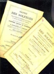Sofege Des Solfeges Nouvelle Edition Du Solfege Pour Voix De Soprano De Henry Lemoine & G.Carulli Augmentee D'Un Grand Nombre De Lecons D'Auteurs Anciens Et Modernes - Volume 1 A + Volume 1 B. - Couverture - Format classique