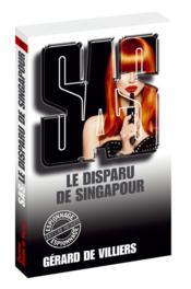 Le disparu de Singapour - Couverture - Format classique