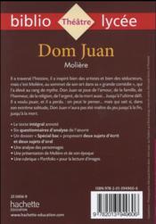 Resume livre dom juan moliere process essay about finding a good job