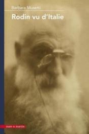 Rodin vu d'Italie - Couverture - Format classique